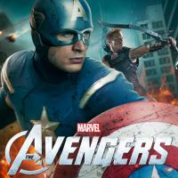 New Marvel's The Avengers poster featuring Captain America &amp; Hawkeye