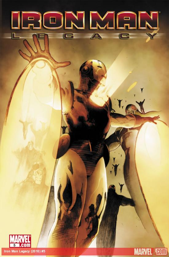 Iron Man Legacy (2010) #5