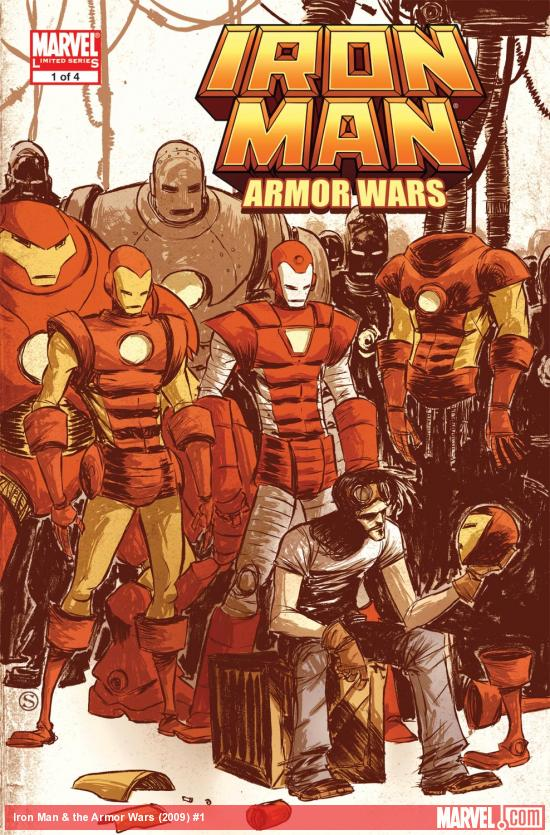 Iron Man & the Armor Wars (2009) #1