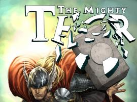 The Mighty Thor #18 variant cover by Steve McNiven