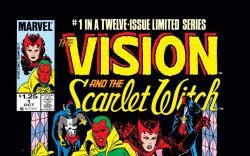 Vision and the Scarlet Witch (1985) #1 Cover