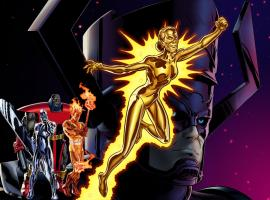 Aunt May, Herald of Galactus character model in Marvel: Avengers Alliance
