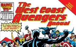 West Coast Avengers Annual (1986) #1