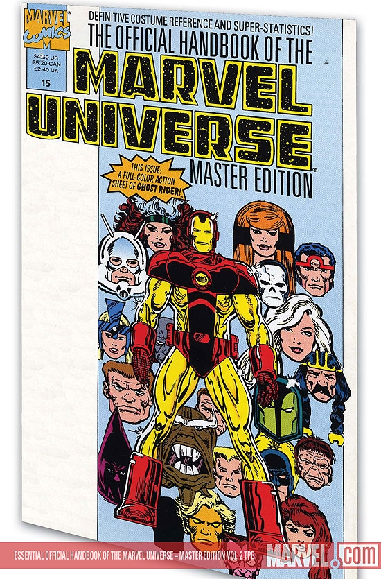 ESSENTIAL OFFICIAL HANDBOOK OF THE MARVEL UNIVERSE - MASTER EDITION VOL. 2 #0