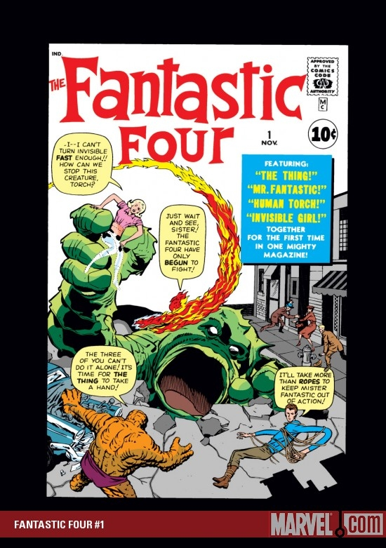 FANTASTIC FOUR #1