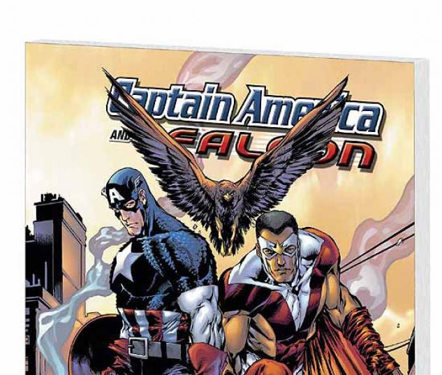 CAPTAIN AMERICA & THE FALCON VOL. 2: BROTHERS AND KEEPERS COVER