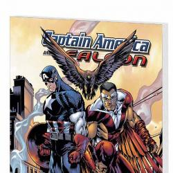 CAPTAIN AMERICA &amp; THE FALCON VOL. 2: BROTHERS AND KEEPERS COVER