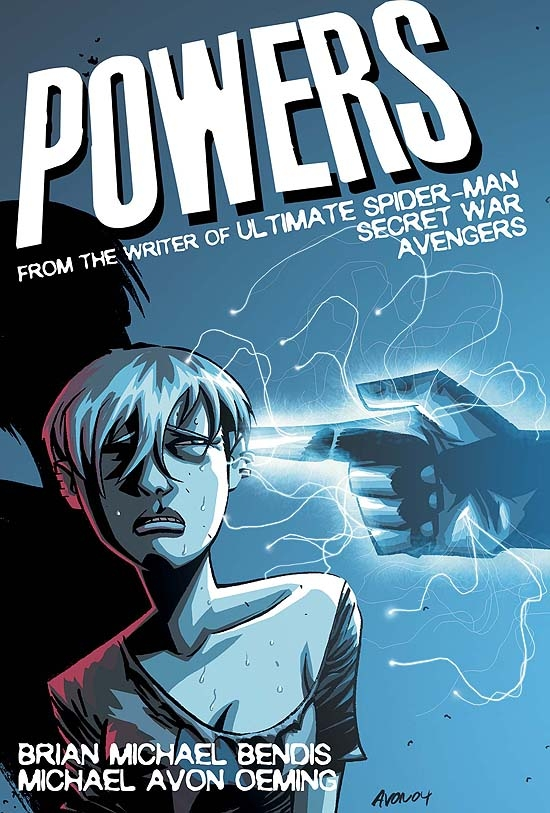 POWERS (2004) #4 COVER