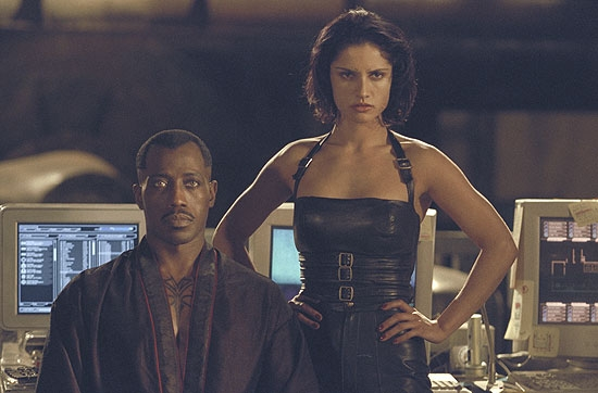 Blade and Nyssa