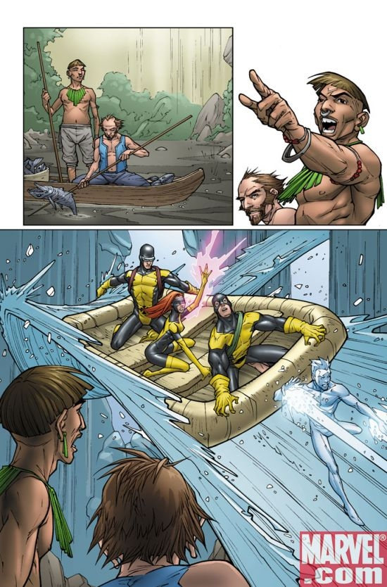 X-MEN: FIRST CLASS #12 preview art by Roger Cruz