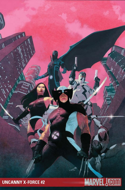 Uncanny X-Force (2010) #2