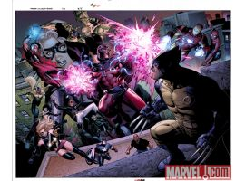 AVENGERS: THE CHILDREN'S CRUSADE #2 preview art by Jim Cheung 3