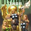 ULTIMATE COMICS THOR #1 variant cover by J. Scott Campbell