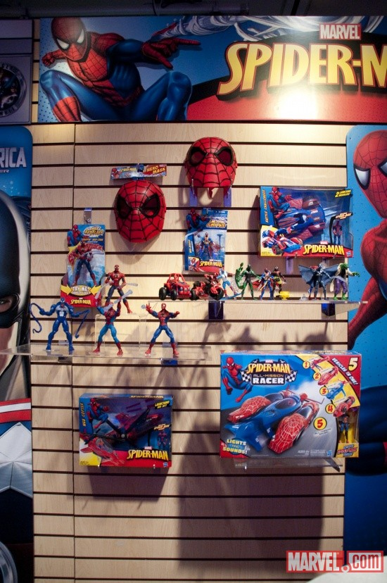 Spider-Man Toys from Hasbro at Toy Fair 2011