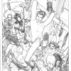 Amazing Spider-Man #668 pencils by Humberto Ramos