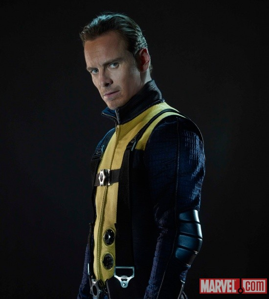 Michael Fassbender stars as Erik Lehnsherr/Magneto in X-Men: First Class