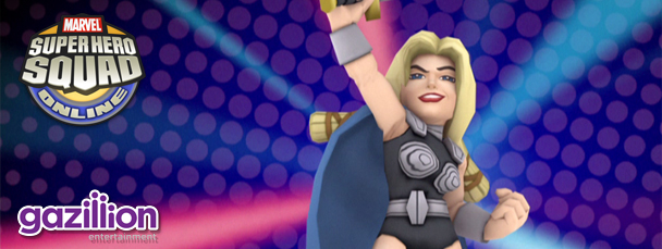 Super Hero Squad Online: Meet Valkyrie