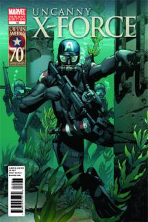 Uncanny X-Force #12  (I Am Captain America Variant)