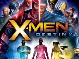 X-Men Destiny- Playstation 3 Box Art