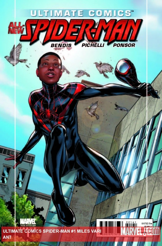 ULTIMATE COMICS SPIDER-MAN 1 MILES VARIANT
