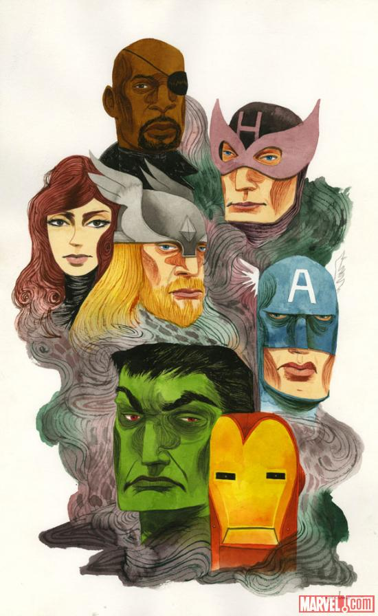 Marvel's The Avengers Art by Ken Garduno. TM & © 2012 Marvel & Subs. www.marvel.com.
