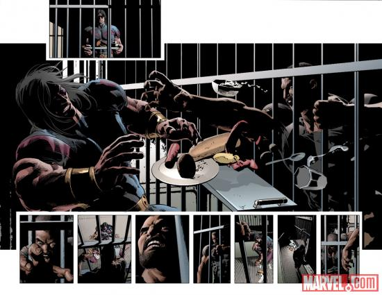 New Avengers #28 preview art by Michael Deodato