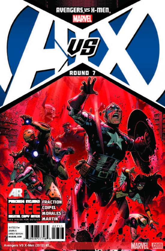 AVENGERS VS. X-MEN 7 (WITH DIGITAL CODE)