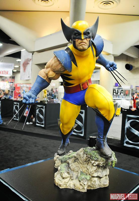 SDCC 2012: Marvel Figures at the Sideshow Booth