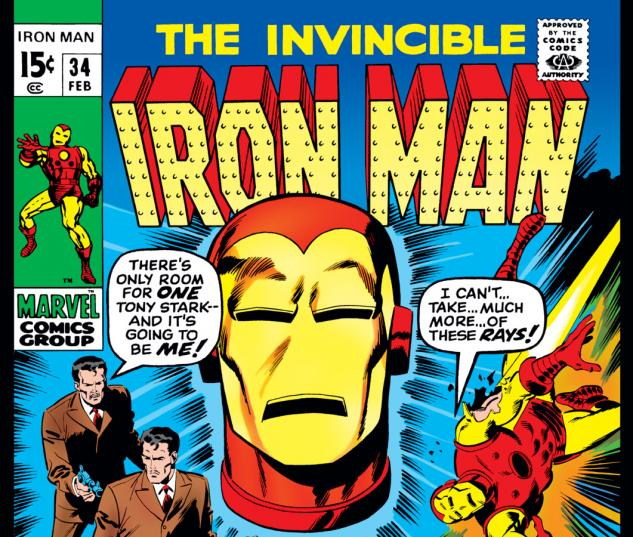 Iron Man (1968) #34 Cover