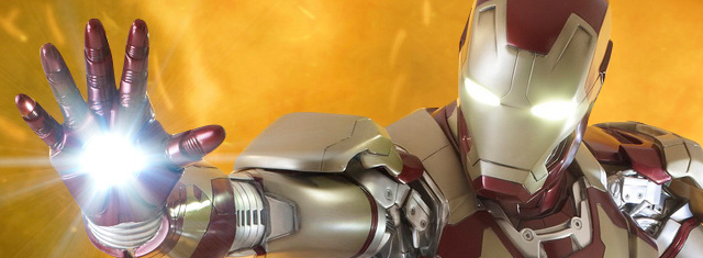See the Life-Size Iron Man 3 Mark 42 Figure