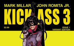 KICK-ASS 3 1 HUGHES VARIANT