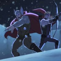 The Avengers Assemble in First 2 Animated Clips