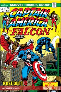 CAPTAIN AMERICA #171 COVER