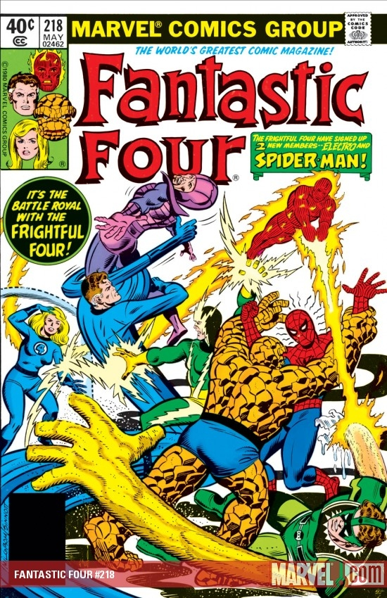 FANTASTIC FOUR #218