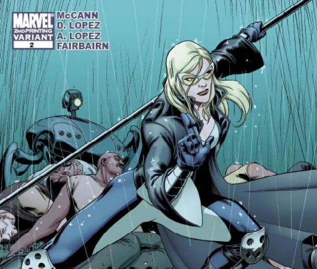 Hawkeye & Mockingbird (2010) #2 (2ND PRINTING VARIANT)