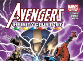 Avengers & The Infinity Gauntlet #1 cover by Humberto Ramos