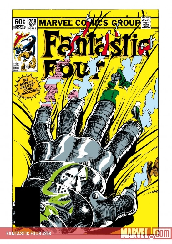 FANTASTIC FOUR #258