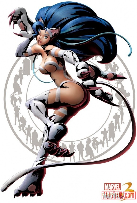 Felicia Character Art from Marvel vs. Capcom 3: Fate of Two Worlds