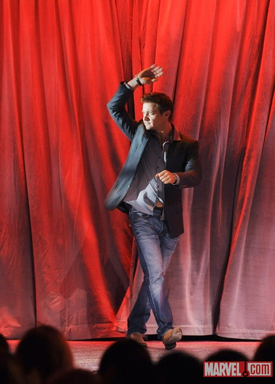 Jeremy Renner at D23 2011