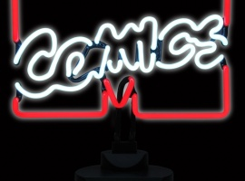 Marvel Logo Neon Sign