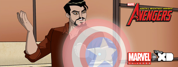 Tony Stark in The Avengers: Earth's Mightiest Heroes! Season 2, Episode 2