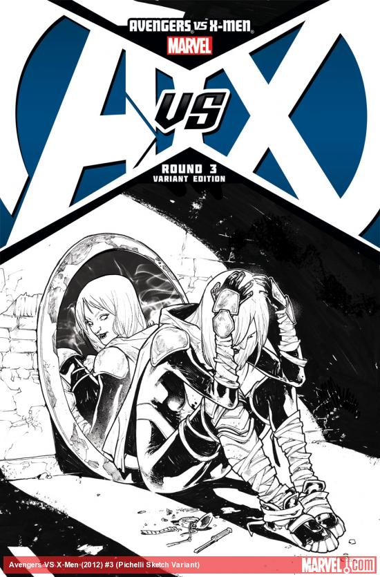 Avengers VS X-​Men (2012) #3 (Pichelli Sketch Variant)