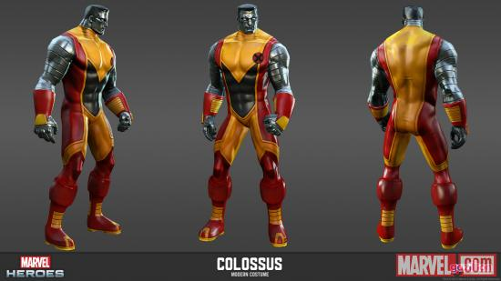Colossus character render from Marvel Heroes