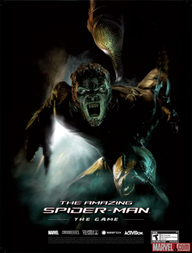 Poster of Scorpion from The Amazing Spider-Man video game