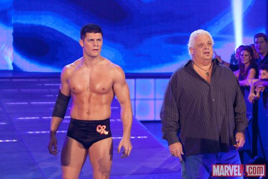 Cody Rhodes &amp; Dusty Rhodes (photo courtesy of WWE)
