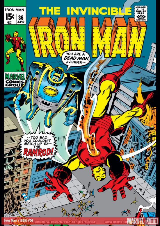 Iron Man (1968) #36 Cover