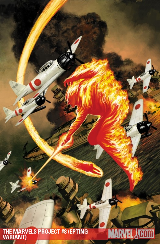 The Marvels Project (2009) #8 (EPTING VARIANT)