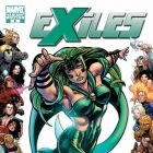 EXILES #5 cover by Mike Grell