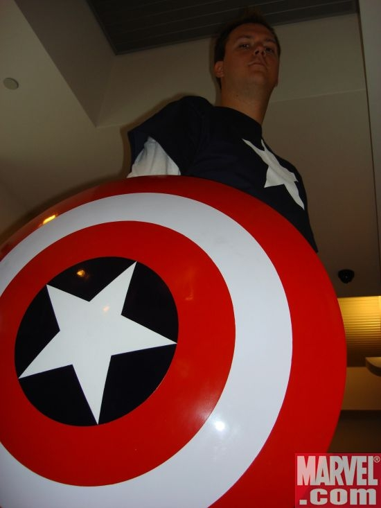 Richard Wilkinson as Captain America
