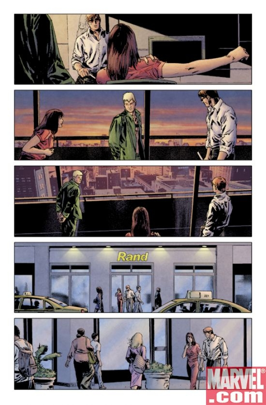 DAREDEVIL #111 Interior Art